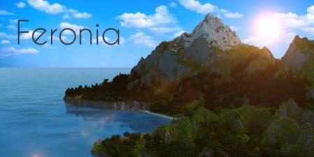 Карта Feronia для Майнкрафт 1.7, 1.7.10
