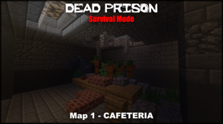 Карта Dead Prison – Survival Mode для Майнкрафт 1.7, 1.7.2, 1.7.10