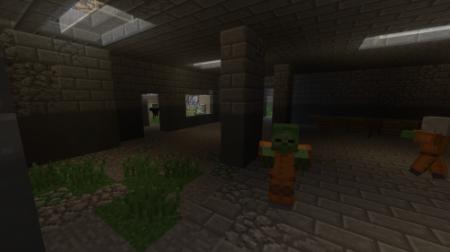 Карта Dead Prison – Survival Mode для Майнкрафт 1.7, 1.7.2, 1.7.10