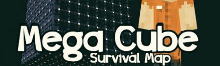 Карта Mega Cube Survival для Майнкрафт 1.7, 1.7.2, 1.7.10