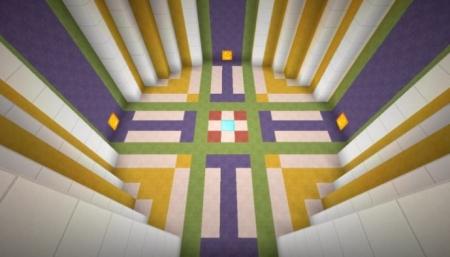 Карта 12 уровней by BlastersTNT для Майнкрафт 1.7, 1.7.10