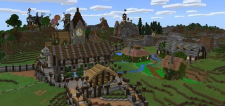 Карта Fantasy Craft (Creation) 1.0.9, 1.0.8, 1.0.0