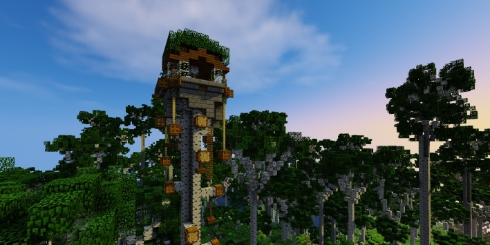 Карта Birch Island - Epic Builds 1.11.2