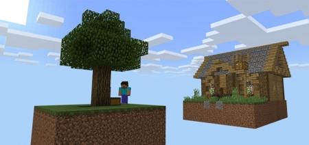 Карта Island In The Sky (Survival) 1.1.0, 1.0.9, 1.0.8, 1.0.7