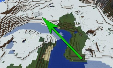 Сид Иглу в снежном биоме 1.1.0, 1.1.0.9