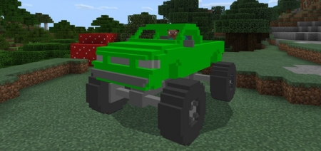 Мод MonsterTruck Addon 1.1.0, 1.0.9, 1.0.8, 1.0.7