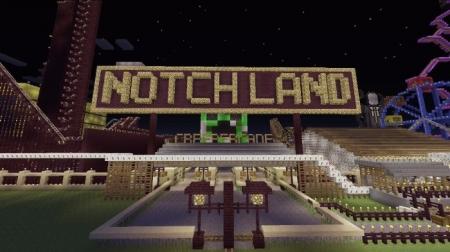 Карта Notchland Amusement Park 1.1.0, 1.0.9, 1.0.8, 1.0.7