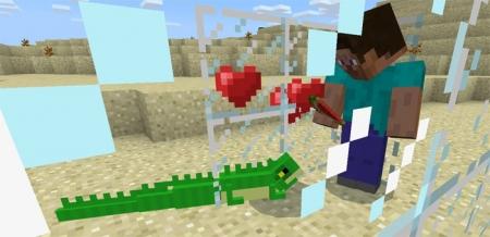 Мод Игуана для Minecraft PE 1.1.0, 1.0.9, 1.0.8, 1.0.7