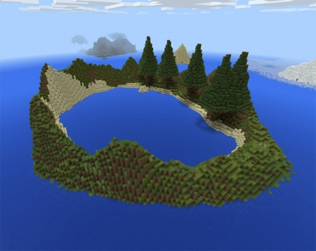 Карта Little Islands (Custom Terrain) 1.1.0, 1.0.9, 1.0.8, 1.0.7