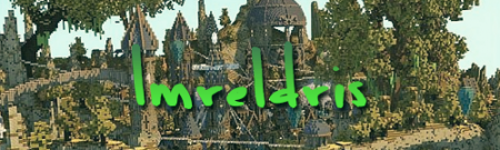 Карта город Imreldris – Fantasy Port Town для Майнкрафт 1.7, 1.7.10
