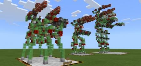Карта New Slime Block Robots 1.1.0, 1.0.9, 1.0.8, 1.0.7