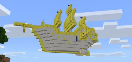 Мод Flying Ship (Wing of Wish) 1.1.0, 1.0.9, 1.0.8, 1.0.7