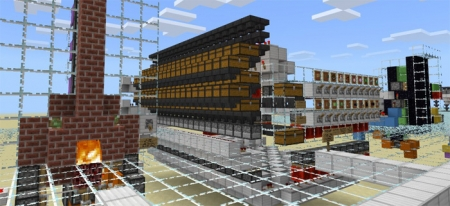 Карта My 20 Favorite Redstone Creations 1.1.0, 1.0.9, 1.0.8, 1.0.7
