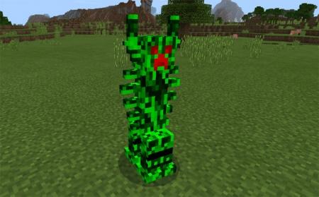 Аддон Freaky Creepers Addon 1.1.0, 1.1.0.9, 1.0.8, 1.0.7