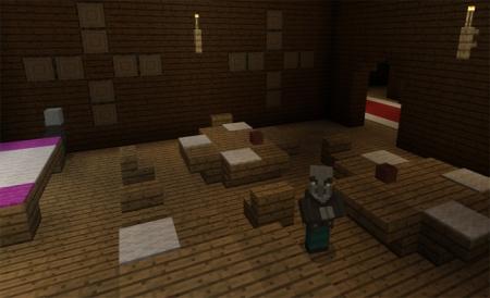 Сид Деревянный особняк возле спавна 1.1.0, 1.0.9, 1.0.8, 1.0.7
