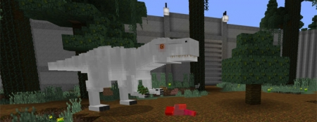 Карта Jurassic Craft World 1.1.0, 1.0.9, 1.0.8, 1.0.7