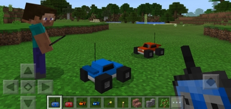 Аддон RC Car Addon 1.1.0, 1.0.9, 1.0.8, 1.0.7