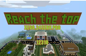 Сервер MCPE: Reach the top 1.1.5, 1.2.0