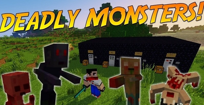 Мод Deadly Monsters 1.12