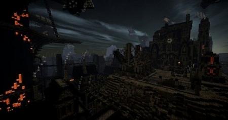 Карта город Monas Roth – Industry's Rise для Майнкрафт 1.7, 1.7.10