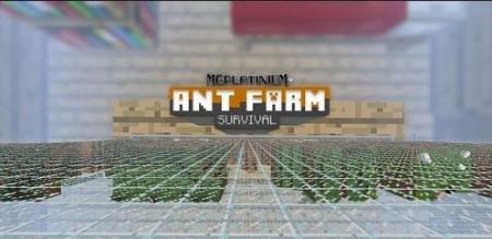 Карта Ant Farm Survival для Майнкрафт 1.7, 1.7.10 на прохождение