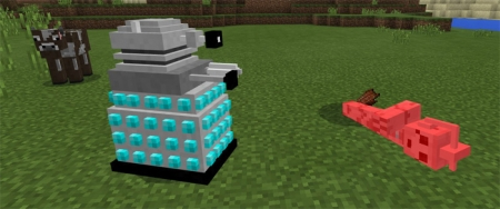 Аддон Doctor Who Mobs Pack Addon 1.1.5, 1.2.0
