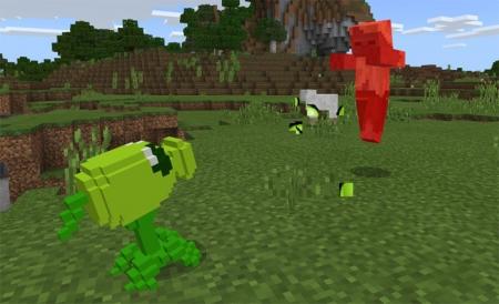 Аддон Plant VS Zombie Addon 1.1.5, 1.2.0