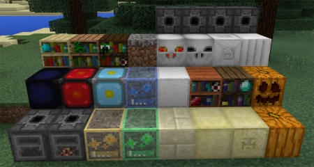 Аддон More Blocks Addon 1.1.5, 1.1.2