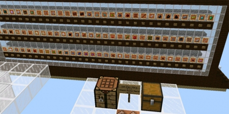 Карта Giant Working Crafting Table 1.2.0