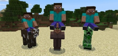 Аддон All Mobs Rideable Addon 1.1.5, 1.2.0