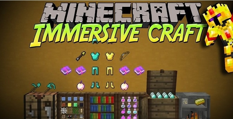 Мод Immersive Craft 1.12