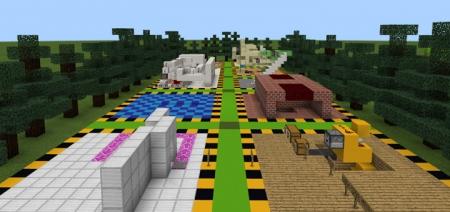 Карта 20 Redstone Creations 1.1.5, 1.2.0