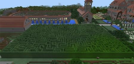 Карта Mansion Findell 2 для Minecreft PE 1.1.5, 1.2.0
