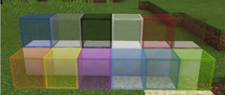 Текстур пак Cleaner Stained Glass 1.1.5, 1.2.0