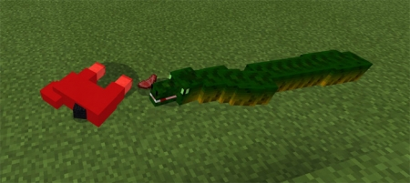 Мод Snake 1.1.5, 1.2.0