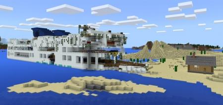 Карта Shipwreck Island [Выживание] 1.2