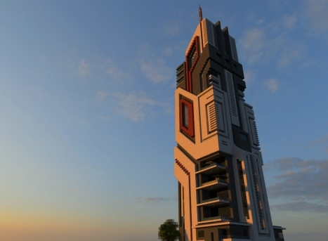 Карта The W.S.Craft Tower 1.12