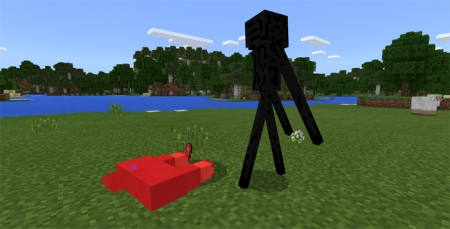 Мод Enderman Pet 1.1.5, 1.2.0