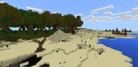 Карта Advanced Island [Пользовательский ландшафт] 1.1.5, 1.2.0