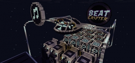 Карта BeatCrafter [Редстоун] 1.1.5, 1.2.0