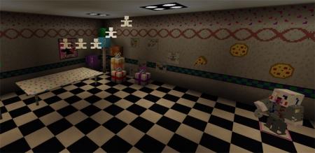 Карта Five Nights At Freddy's 2 Re-Creation [Творчество] 1.1.5, 1.2.0