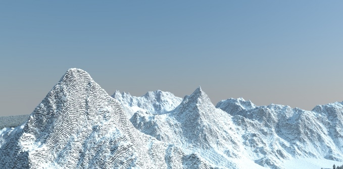 Карта Winter Mountains 1.12