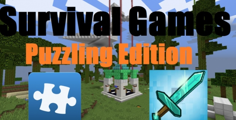Карта Puzzling Survival Games 1.12