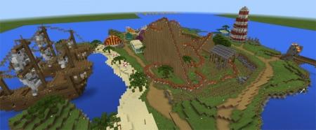 Карта Fantasy Islands (Theme Park) 1.2.0, 1.2.3