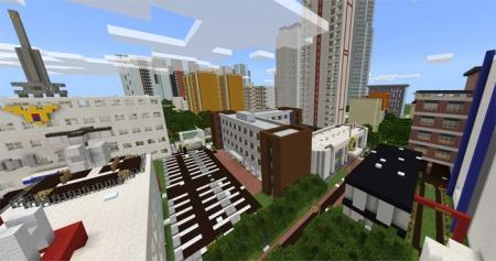 Карта Korea Anju City 5.6 для Minecraft PE 1.2.0