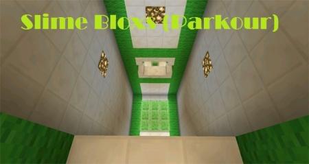Карта Slime Bloxs (Parkour) 1.2.0