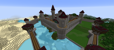 Карта Stone Mountain Castle 1.12