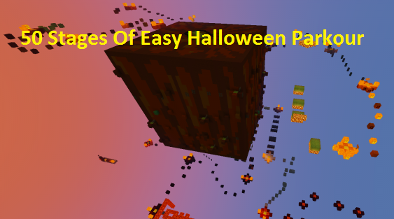 Карта 50 Stages Of Easy Halloween Parkour 1.12