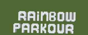 Карта Rainbow Parkour Adventure 1.12
