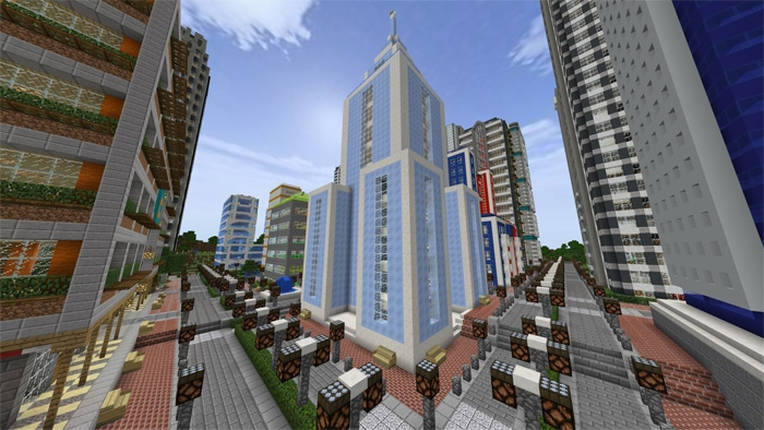 Карта RyanMinecraft71 City 1.2.0, 1.2.6, 1.2.8